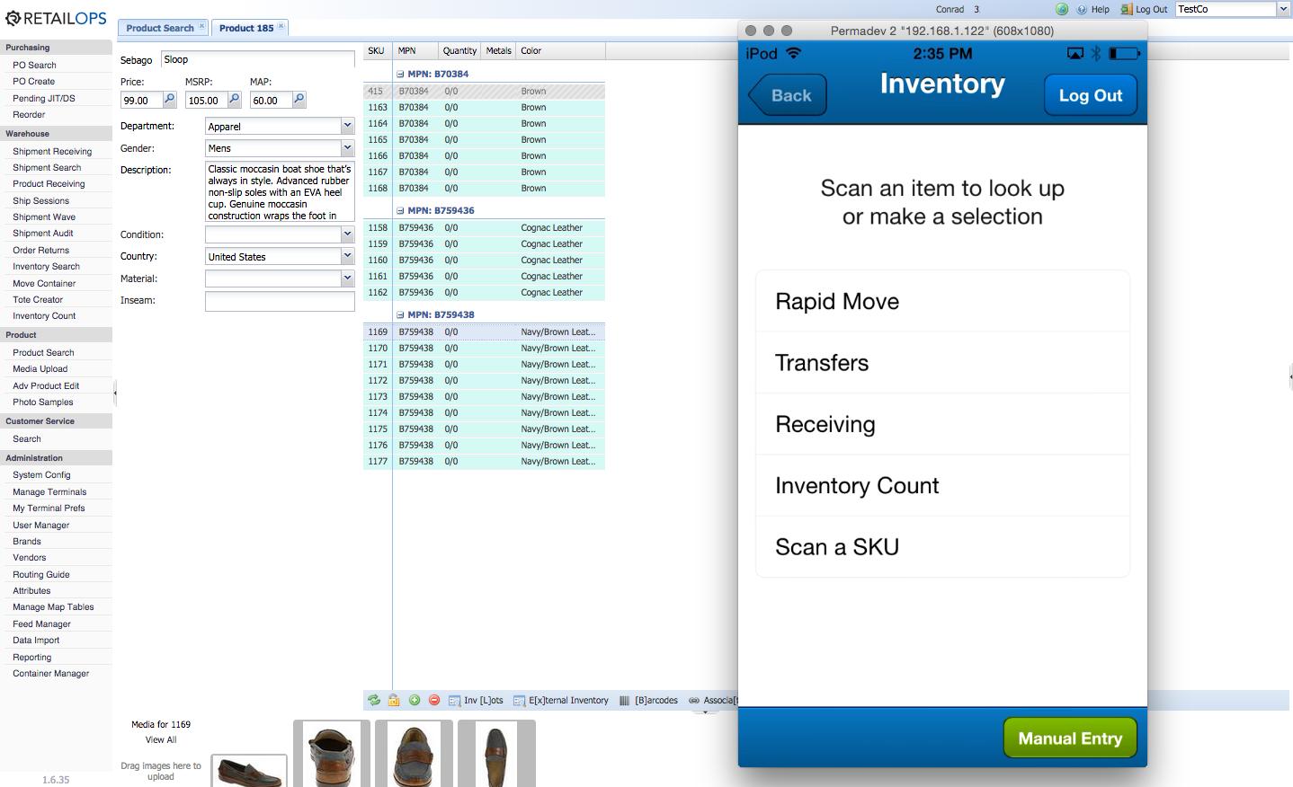 RetailOps - Inventory prompt