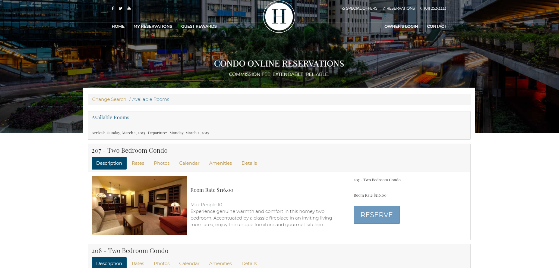 RDP marketing site integration