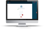 Mend screenshot: Patient check-in and kiosk mode gives patients the ability to search appointments, log attendance, fill out documents and make payments from an office device