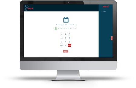 Patient check-in and kiosk mode gives patients the ability to search appointments, log attendance, fill out documents and make payments from an office device