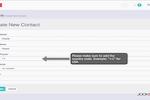 JookSMS screenshot: Jooksms create new contact