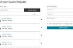 Zoey screenshot: You can use our Request a Quote capability to allow customers to submit their quotes for review and pricing by you as the merchant.