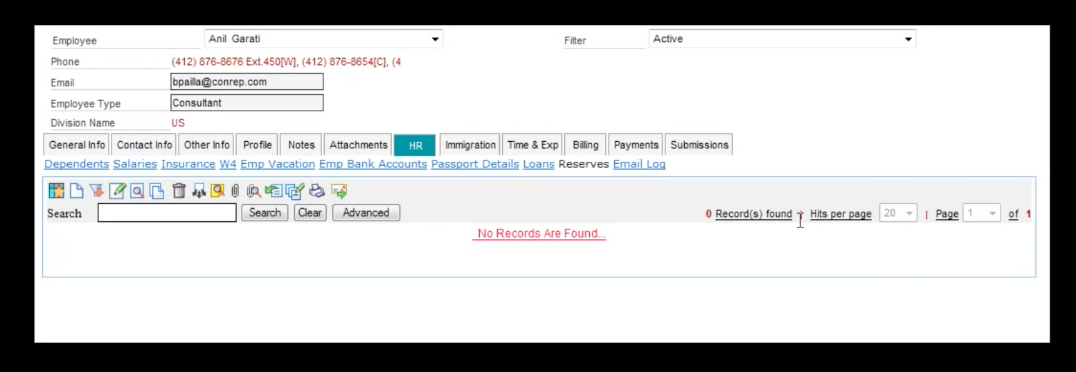 Search functionality helps users find information quickly