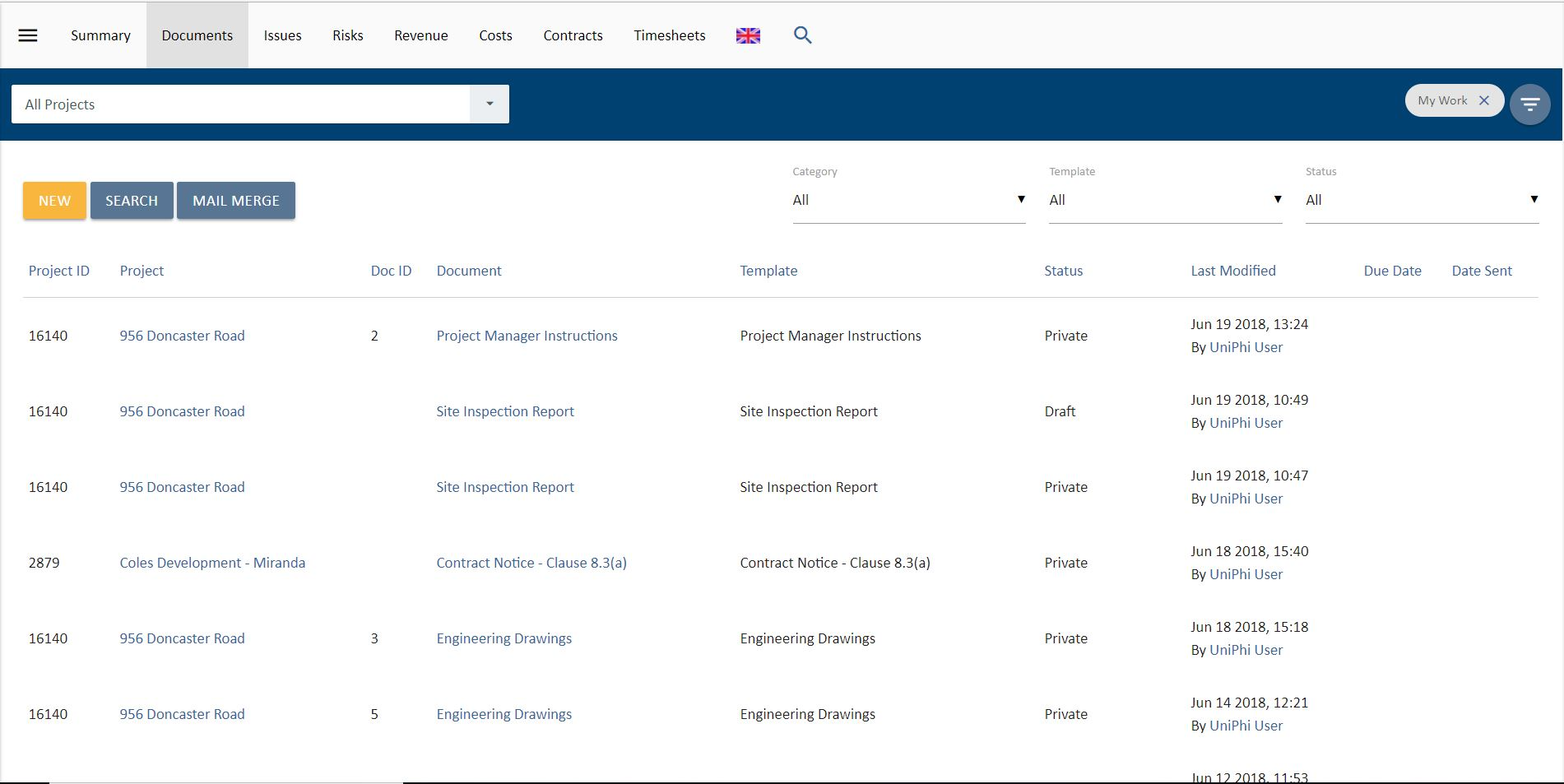 Store, create & manage documents in one location