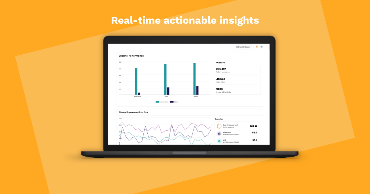 Cross-channel insights and analytics