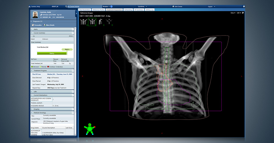 ARIA Clinical Solutions Software - Diagnosis