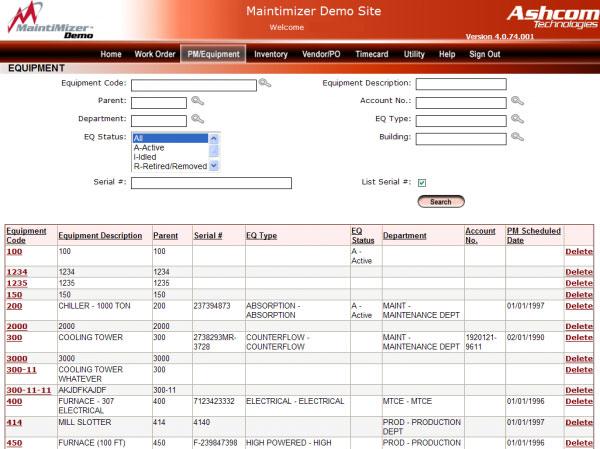 MaintiMizer Software - 1