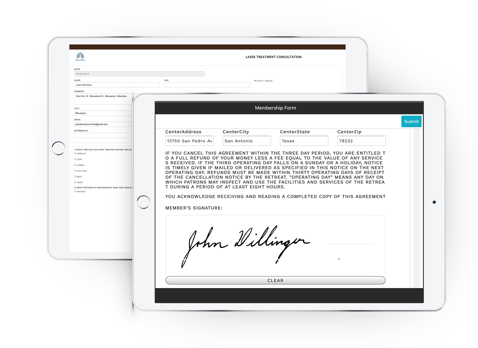 Digitize your manual process to create a smoother experience with Digital forms