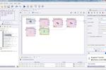 RapidMiner screenshot: Creating a new process in RapidMiner