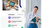 Push Operations screenshot: Schedule faster and smarter with our easy-to-use scheduler. Push Scheduling helps you forecast and track labor budgets against actual cost in real time, enabling you to streamline your operations.
