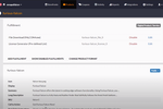 FastSpring screenshot: FastSpring products