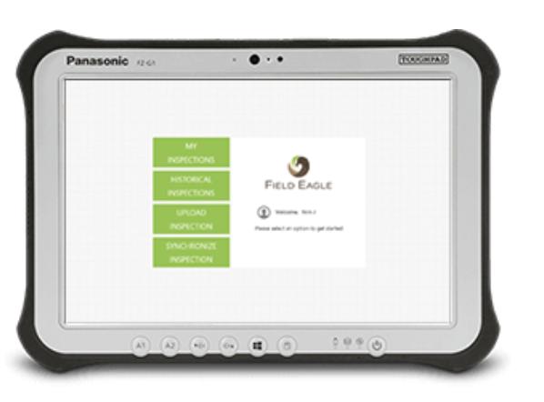 Field Eagle - tablet software