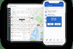 Linxio screenshot: Linxio job tracking