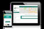 Schermopname van ezyVet: ezyVet's Customer Portal for online booking and more.