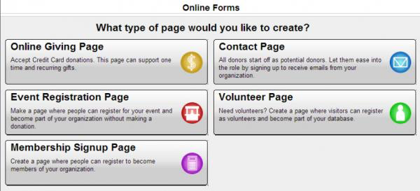 eTapestry's Do-It-Yourself online donation forms