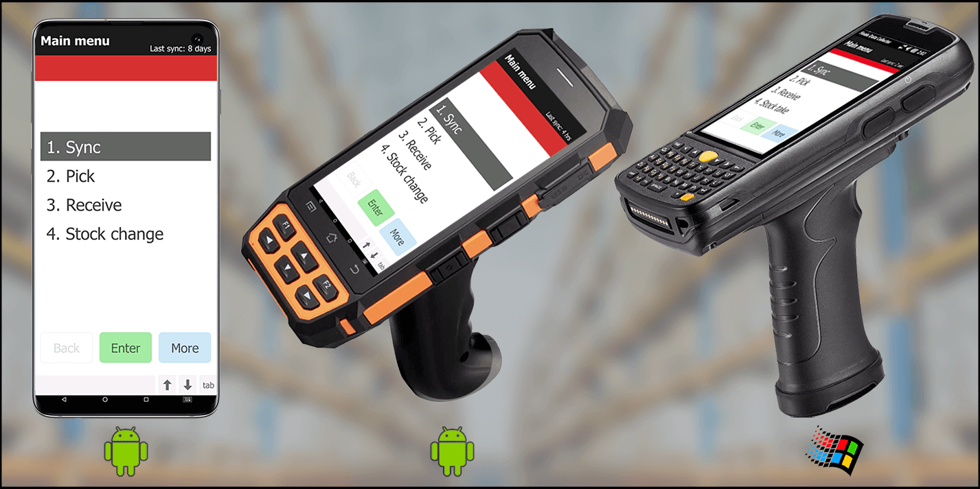 Finale Inventory Software - Android and Windows-compatible barcoding solution
