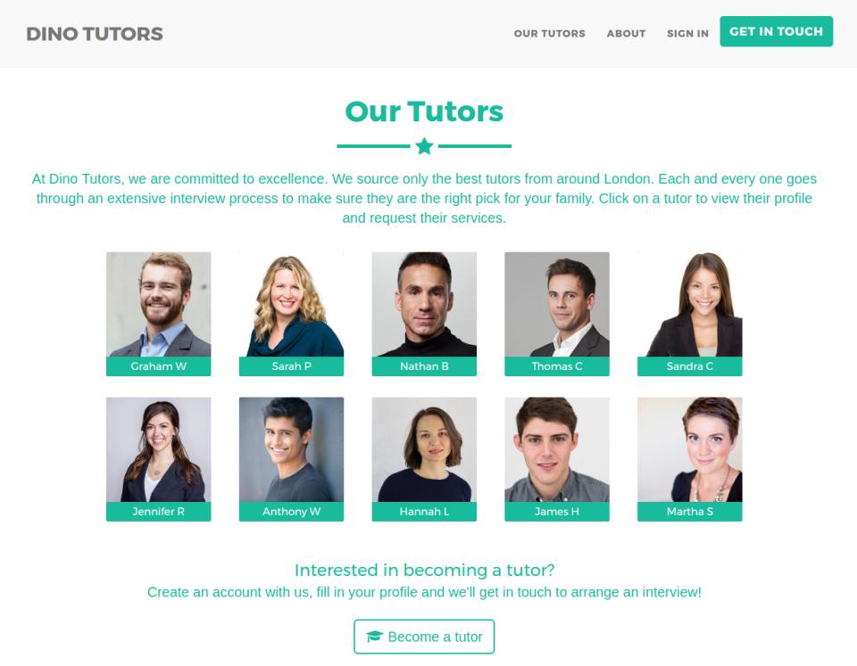 TutorCruncher Software - Website Integration