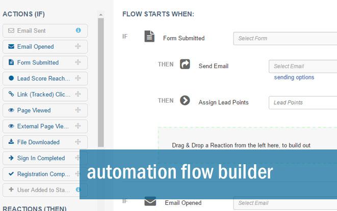 Automation flow builder