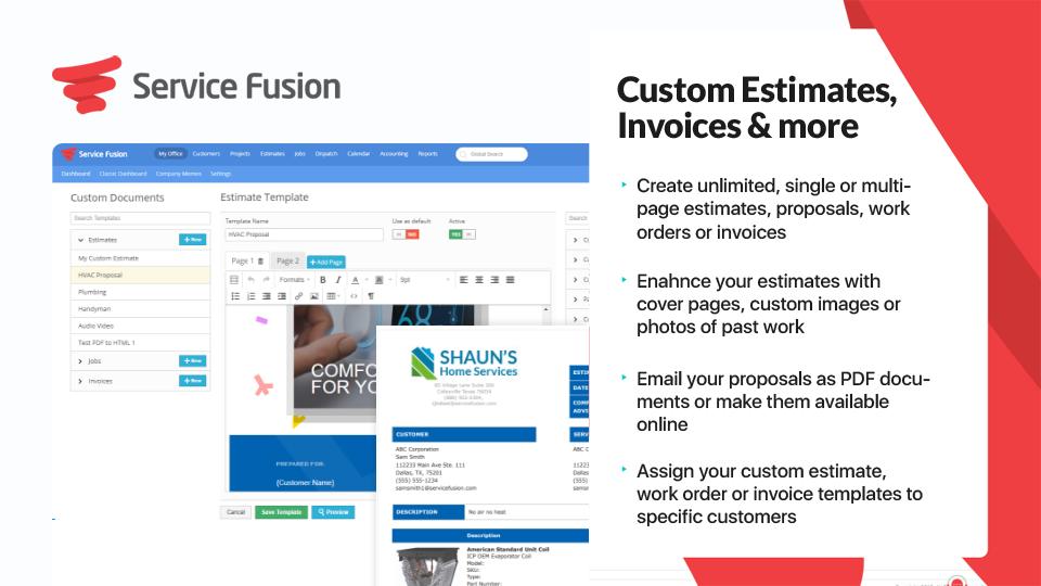 Service Fusion Software - 3