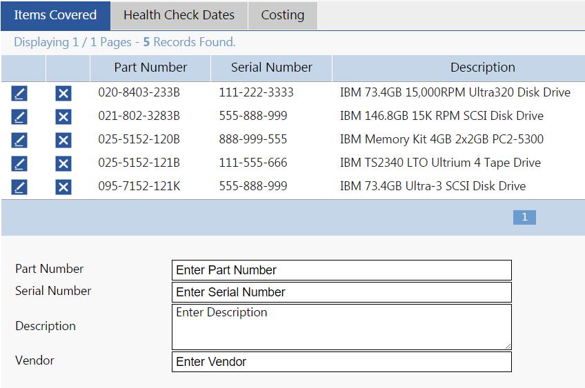 SMART SERVICE DESK ITSM Software - Contract management