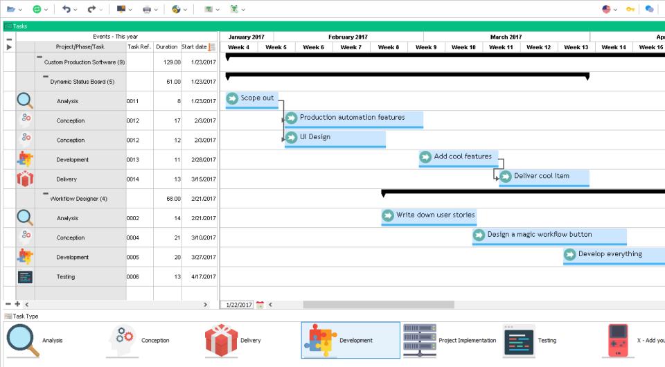 Visual Planning Software - 1