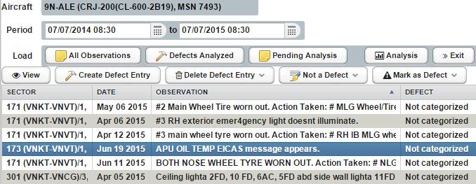 EMQIM Software - Defect analysis