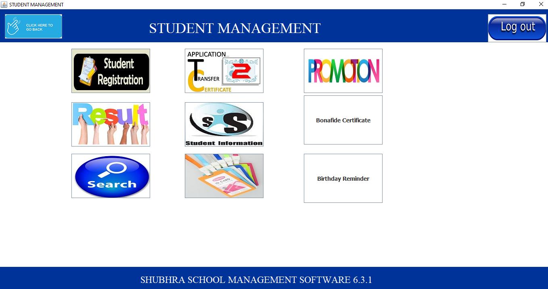 Shubhra School Management student portal