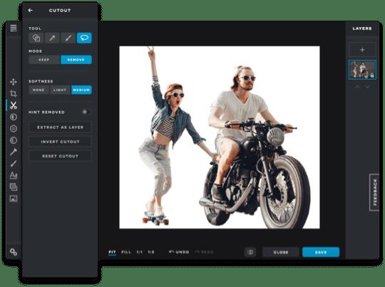 Pixlr Software - Pixlr cutouts