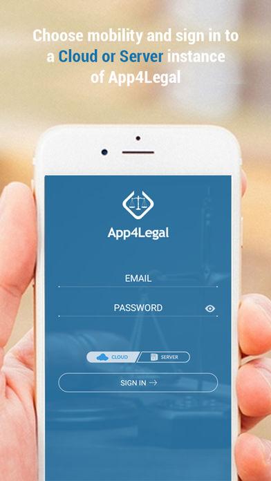 App4Legal mobile app