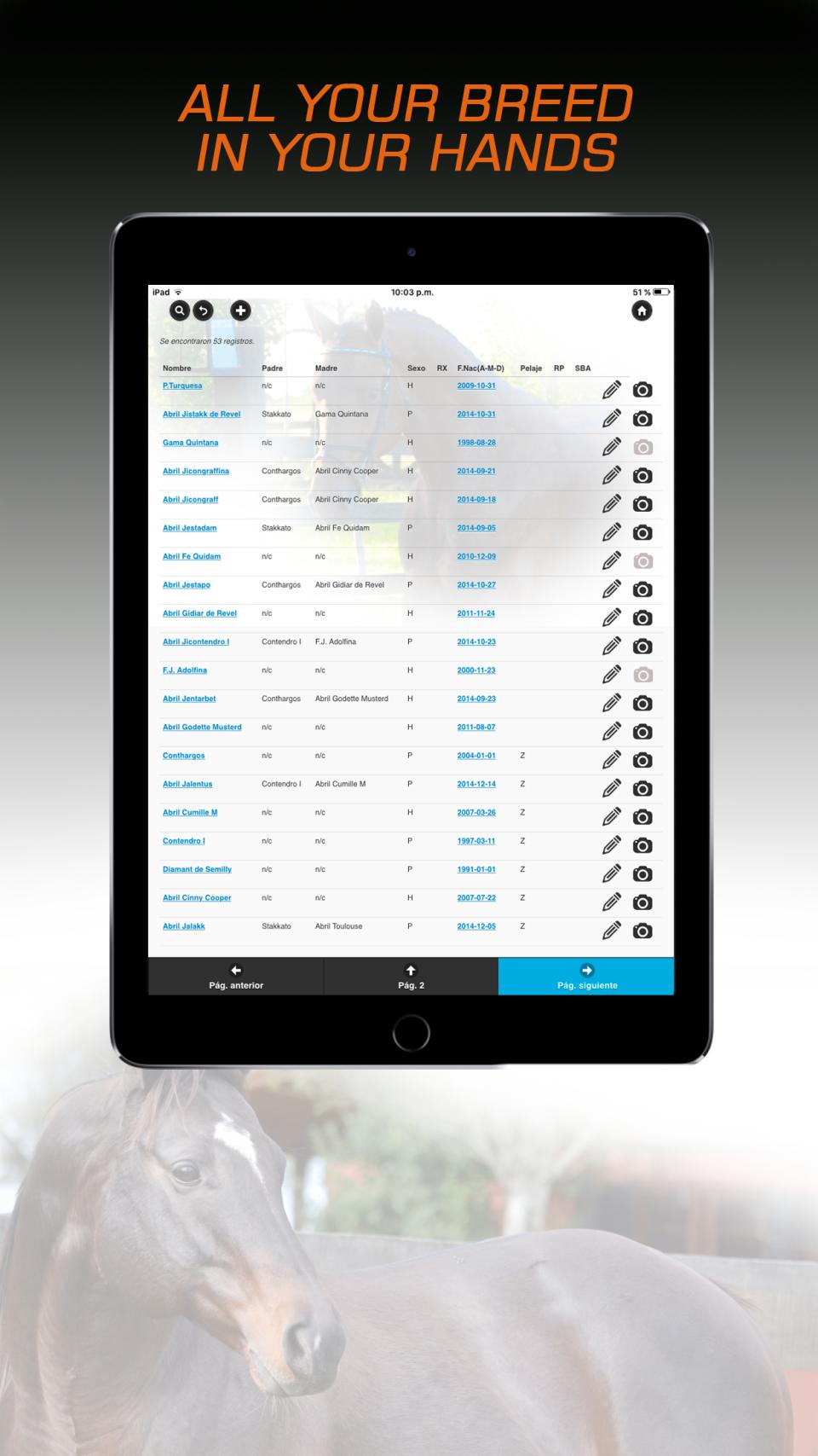 Breeders App Software - 2
