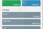 ONexpense screenshot: ONexpense dashboard