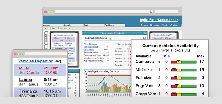 The web-based solution automates every aspect of fleet management and motor pooling, capturing key metrics for reducing cost while maximizing efficiency