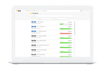 eSUB screenshot: Manage all projects in one centralized location