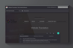 Text United screenshot: Translate your website in the Live Editor, within your browser