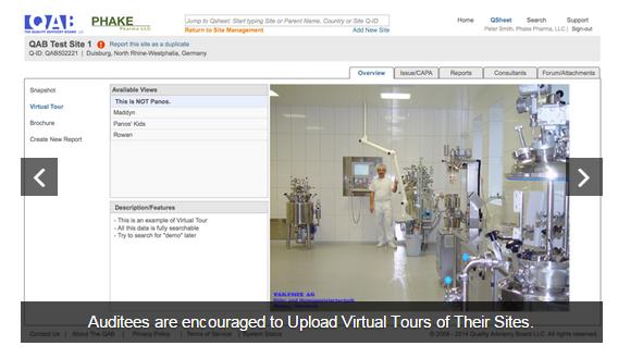 ZenQMS Software - Upload virtual tours