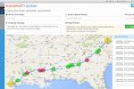 AscendTMS Logistics Software screenshot: AscendTMS tracker