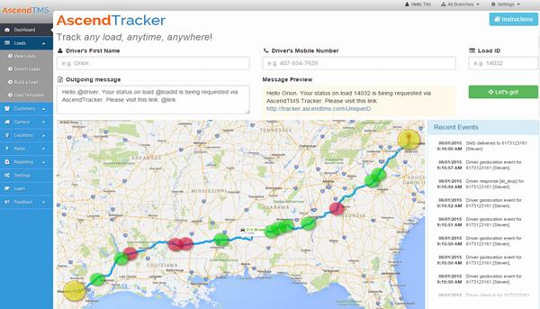 AscendTMS tracker