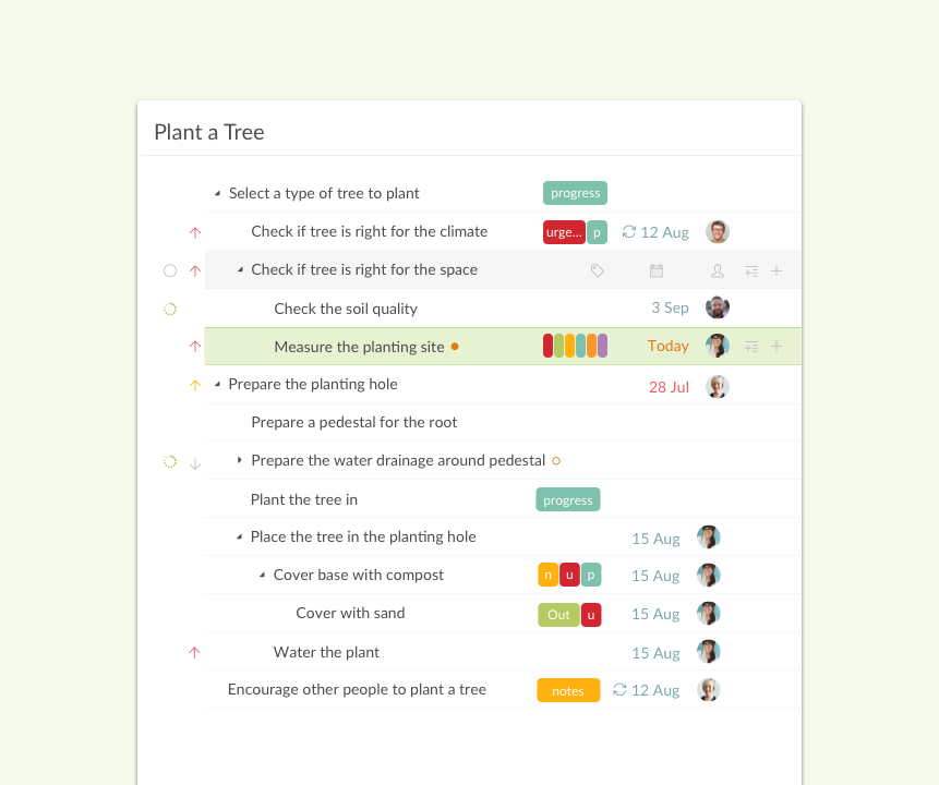Quire Software - Quire task management