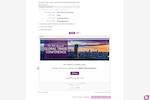 Captura de pantalla de RSVPify: RSVPify screenshot email invitations