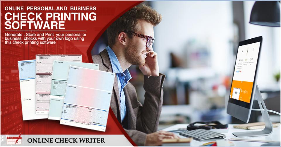 Online Check Writer Software - 1