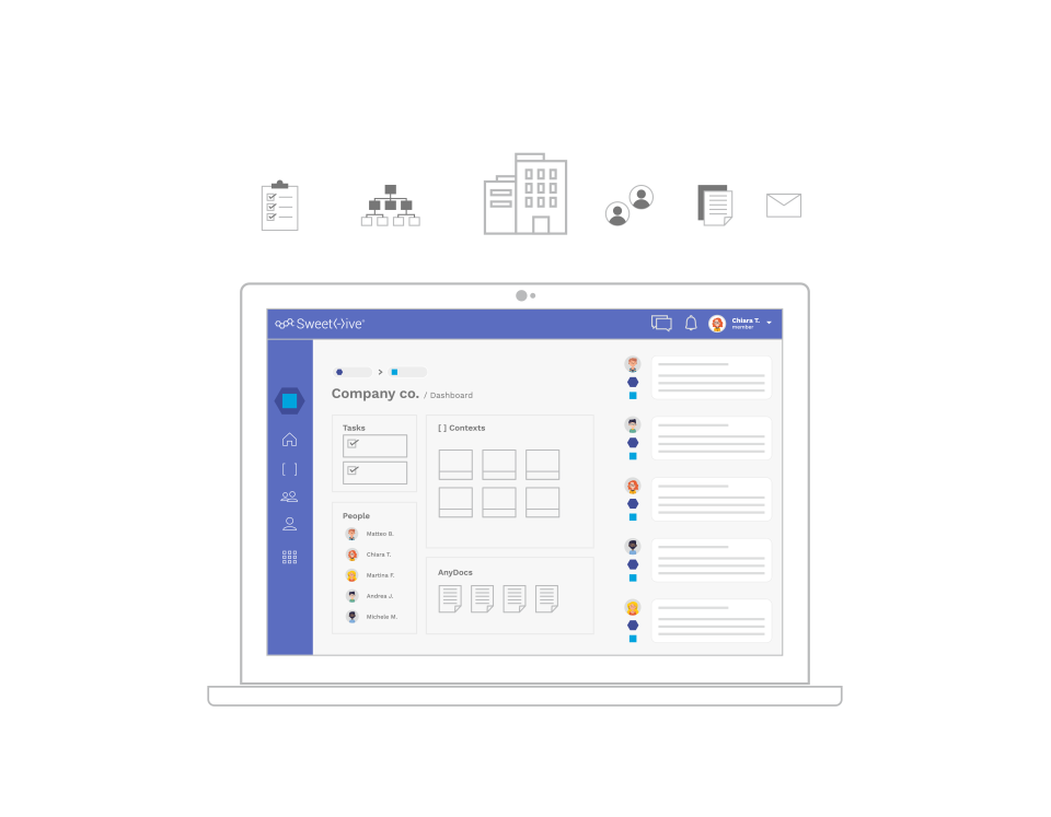 A digital workspace that brings collaboration to a higher level.