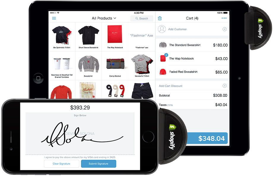 Mobile app - manage your store from your iPad or iPhone