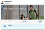 Oracle Cloud HCM screenshot: Promote a healthier work-life balance and offer company volunteer projects