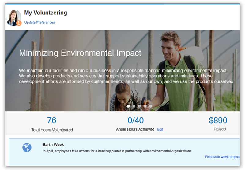 Promote a healthier work-life balance and offer company volunteer projects