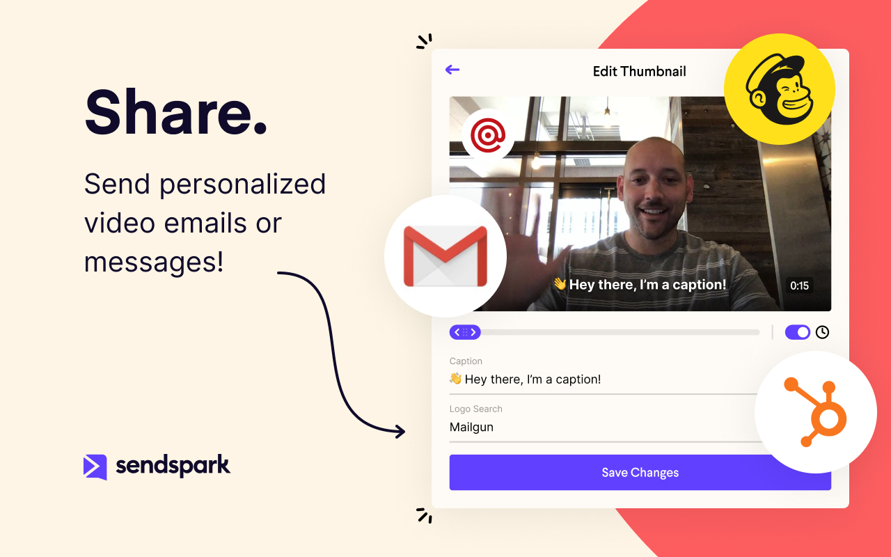 Share Videos in Email and Direct Messages