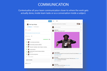 Captura de pantalla de Azendoo: Task-focused team communication