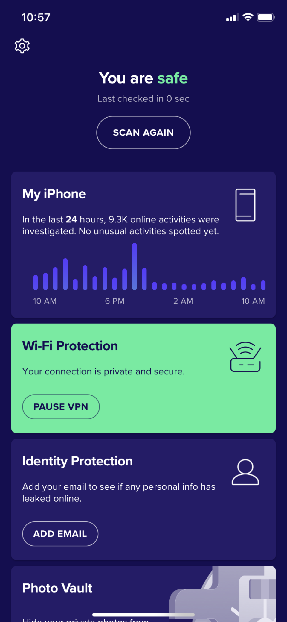 Avast Small Office Protection scan mobile devices