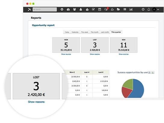 Platformax Software - Reports