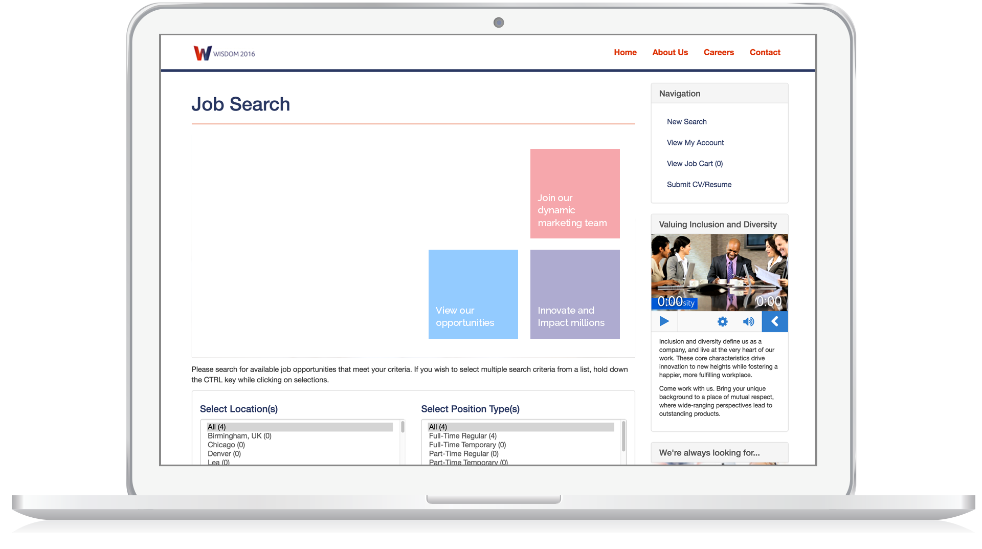 PeopleFluent Learning Software - Job  search