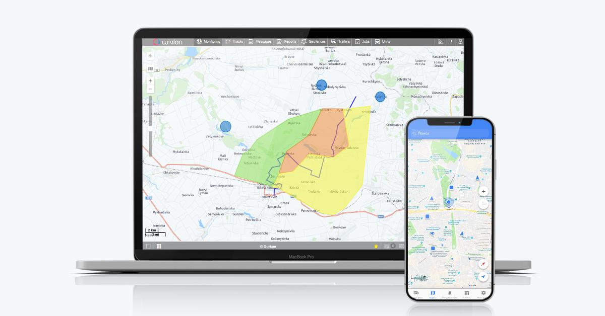 Wialon GPS Tracking & Fleet Management System